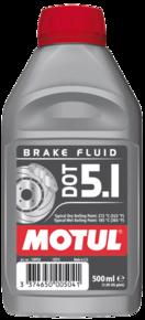MOTUL DOT 5.1 Brake Fluid 0.5L